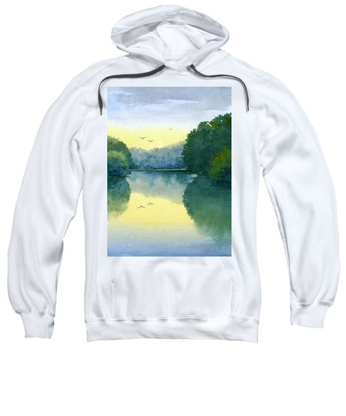Sunset At Memorial Park Sweatshirt