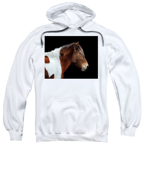 Susi Sole Portrait On Assateague Island Sweatshirt