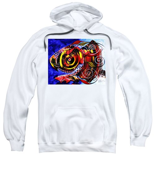 Swollen, Red Cavity Fish Sweatshirt