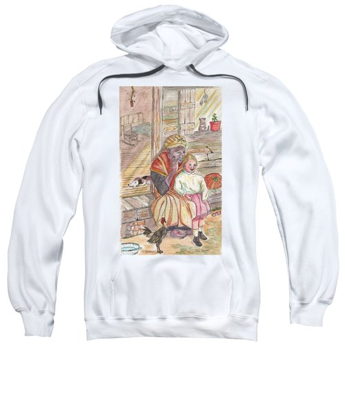 Taking Care Of The Owners Little Daughter Sweatshirt