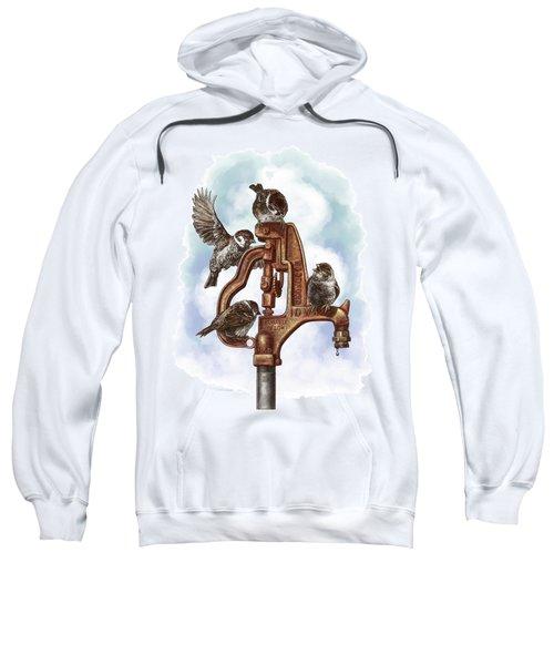 Talk Around The Watercooler Sweatshirt