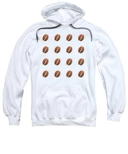 Tasty Coffee Seamless Pattern Sweatshirt