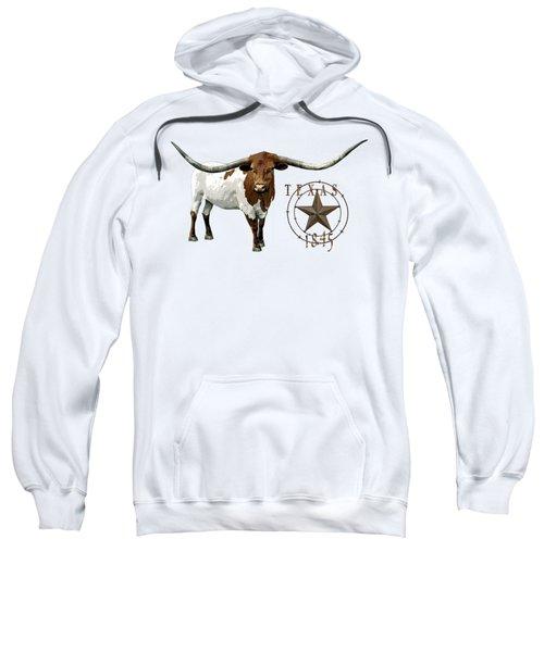 Texas Longhorn And Lone Star Statehood - T-shirt Sweatshirt