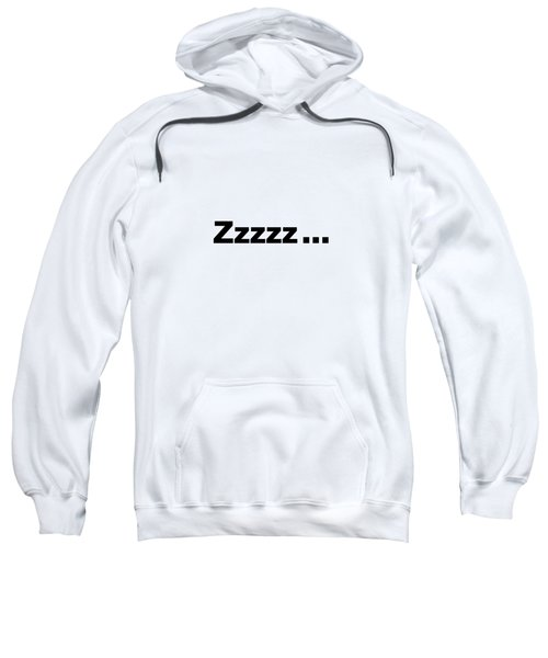 Text Zzzzz  On A Product -  Dth312 Sweatshirt