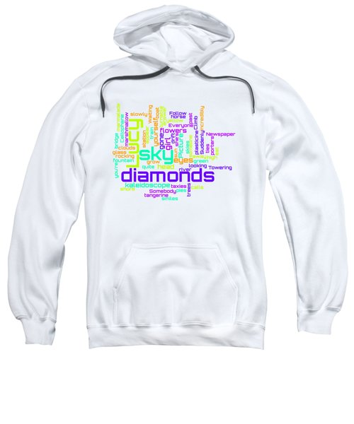 The Beatles - Lucy In The Sky With Diamonds Lyrical Cloud Sweatshirt
