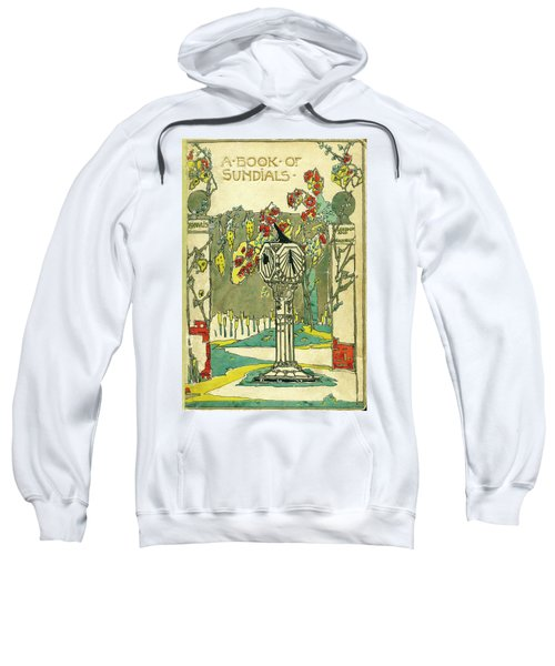 Cover Design For The Book Of Old Sundials Sweatshirt