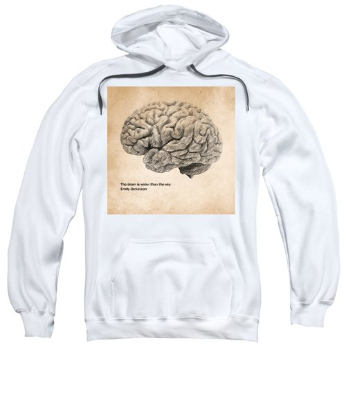 The Brain Is Wider Than The Sky Sweatshirt