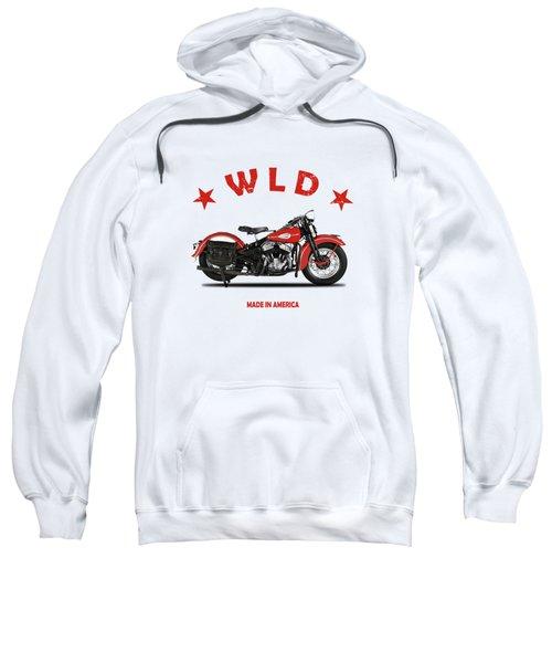The Harley Wld Motorcycle 1941 Sweatshirt