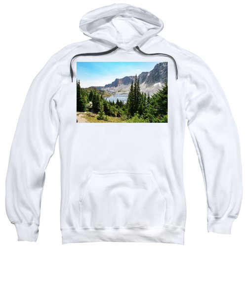 The Lakes Of Medicine Bow Peak Sweatshirt