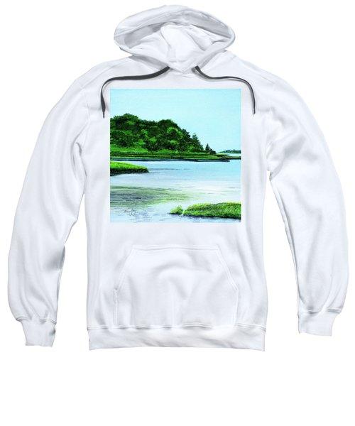 The Little River Gloucester, Ma Sweatshirt