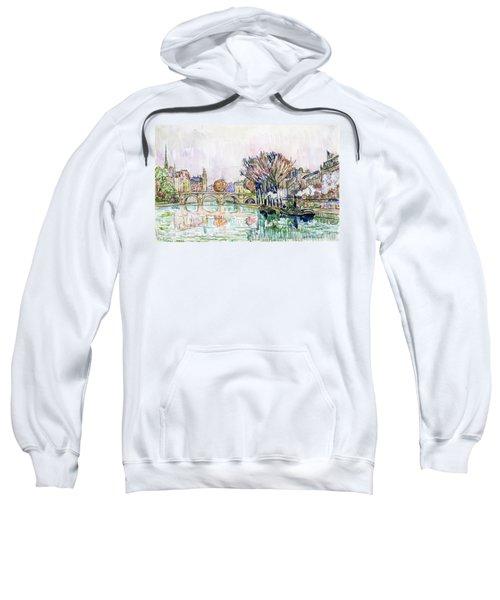 The Pont Neuf, Paris - Digital Remastered Edition Sweatshirt