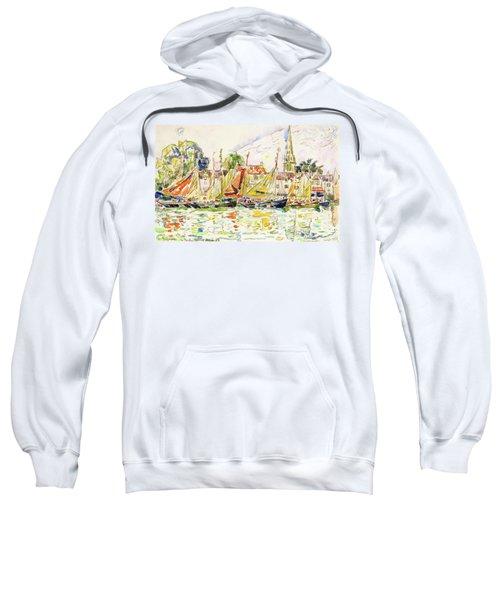 The Pouliguen, Fishing Boats - Digital Remastered Edition Sweatshirt