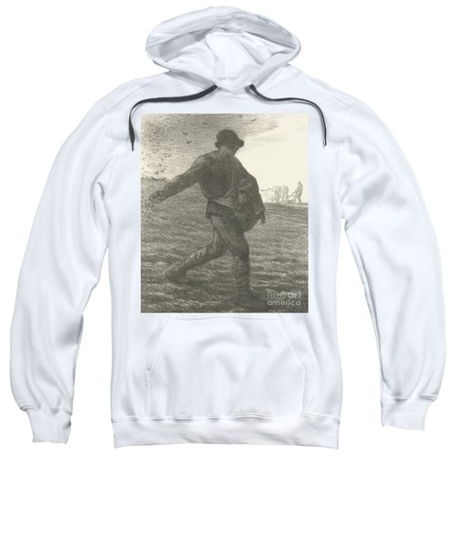The Sower, 1851 Lithograph Sweatshirt