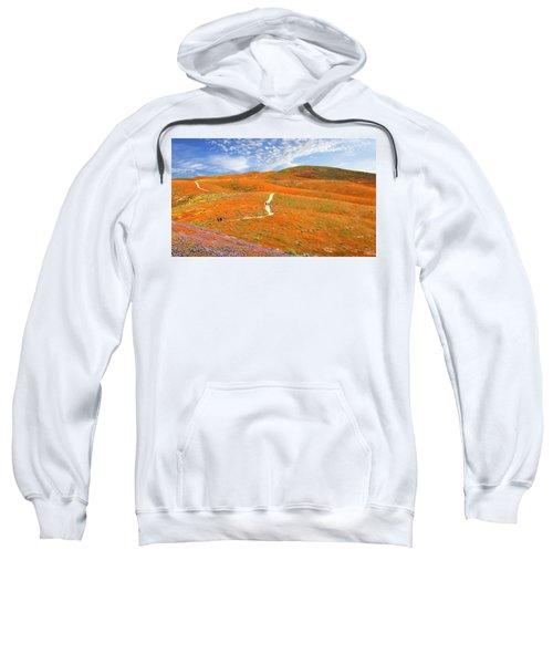 The Trail Through The Poppies Sweatshirt