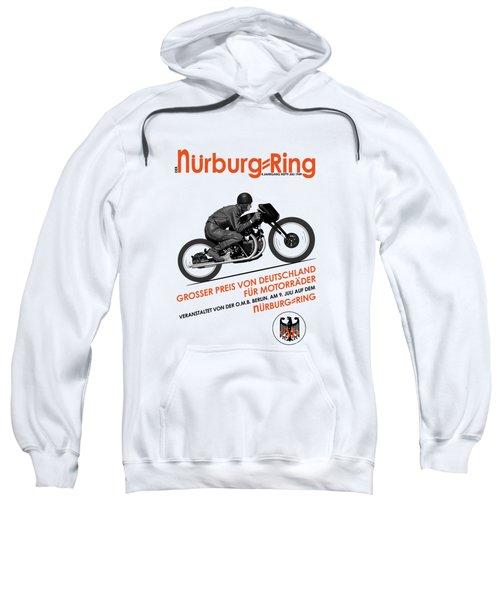 The Vintage Grand Prix Of Germany Poster Sweatshirt