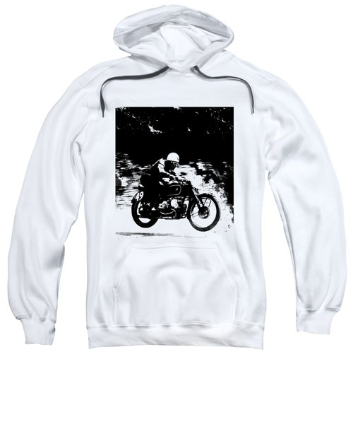The Vintage Motorcycle Racer Sweatshirt