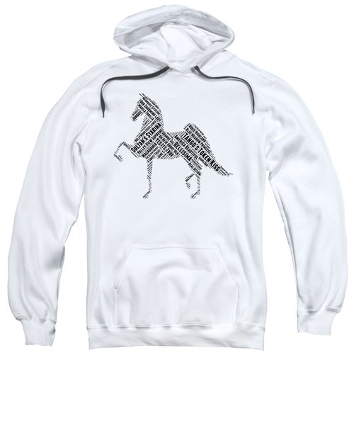 Three Gaited World Grand Champions Sweatshirt