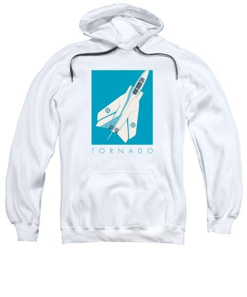 Tornado Swing Wing Jet - Cyan Sweatshirt