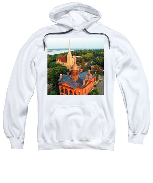 Towering Over Stillwater And St. Croix River Valley Sweatshirt