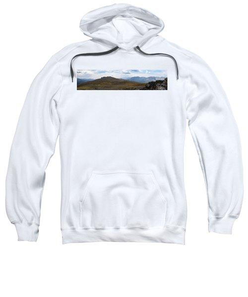 Trail Ridge Road Arctic Panorama Sweatshirt