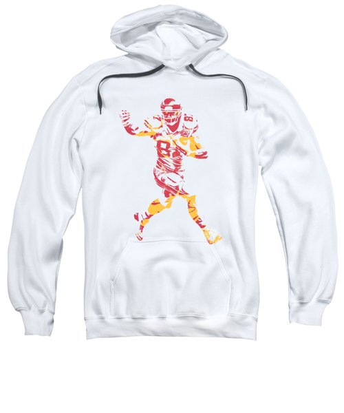 Travis Kelce Kansas City Chiefs Apparel T Shirt Pixel Art 1 Sweatshirt
