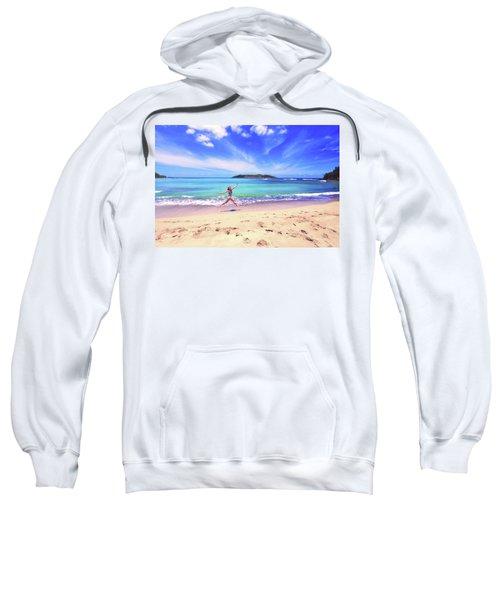 Tropical Spring Sweatshirt