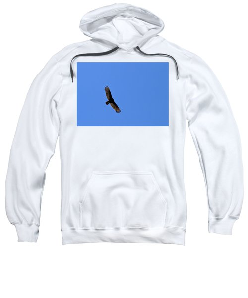 Turkey Vulture Soaring Sweatshirt