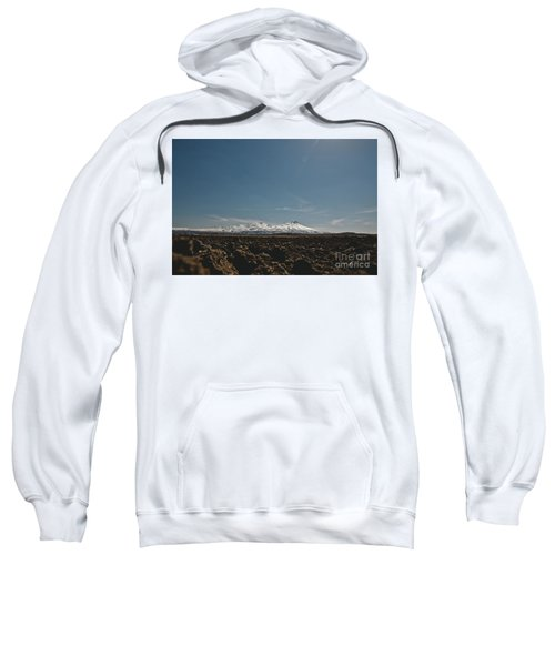 Turkish Landscapes With Snowy Mountains In The Background Sweatshirt