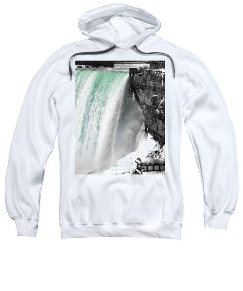 Turquoise Falls Sweatshirt