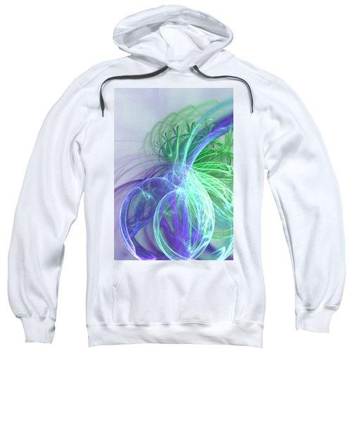 Turquoise Swirl Sweatshirt