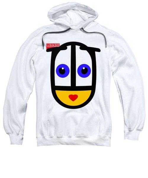 uBABE Face Sweatshirt