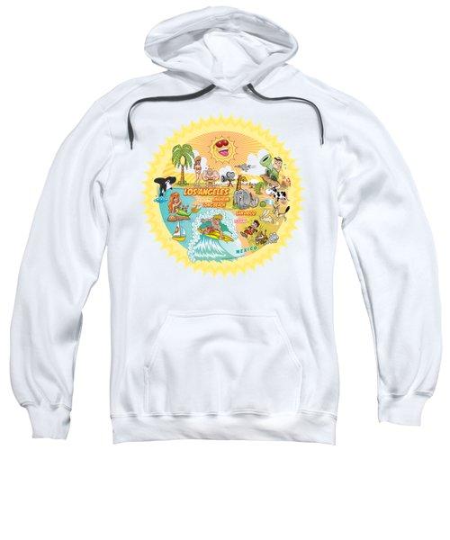 Ultimate Sunny California Beach Paradise Sweatshirt