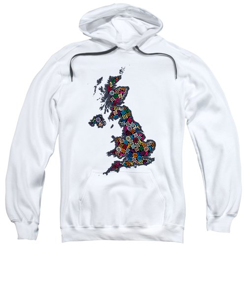 United Kingdom Map-1 Sweatshirt