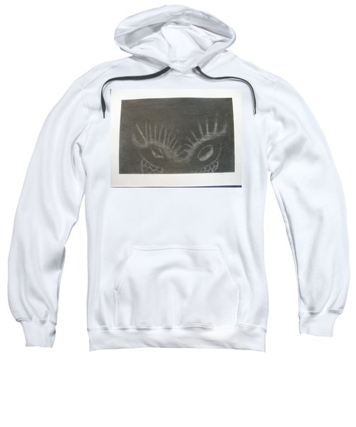 Upper Dragon Face Sweatshirt