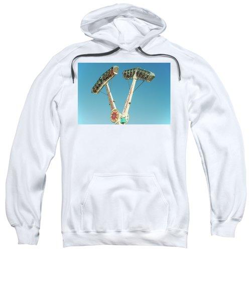 Upside Down, Round And Round Sweatshirt