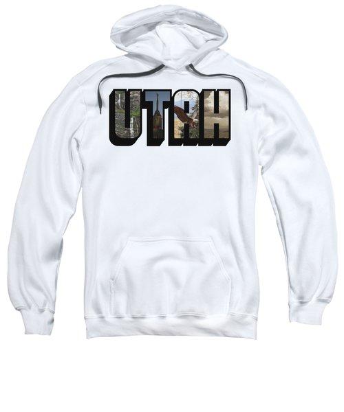 Utah Big Letter Sweatshirt