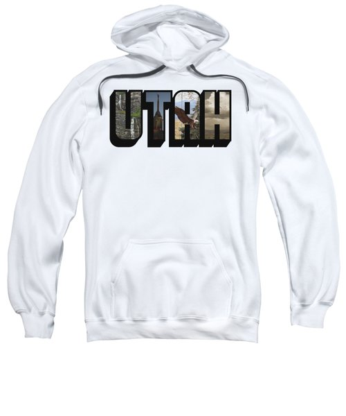 Utah Big Letter Sweatshirt
