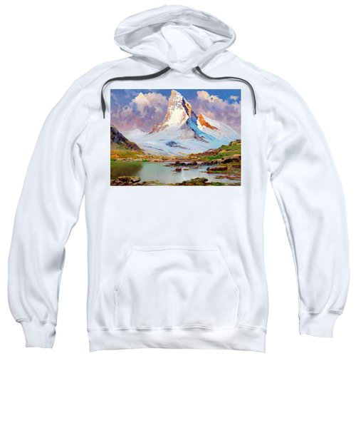 View Of The Matterhorn - Digital Remastered Edition Sweatshirt