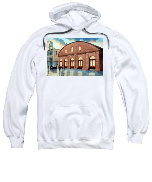 Vintage Color Columbia Market House Sweatshirt