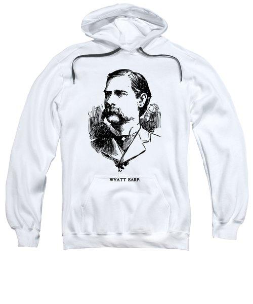 Vintage Newspaper Wyatt Earp Portrait 1896 - T-shirt Sweatshirt