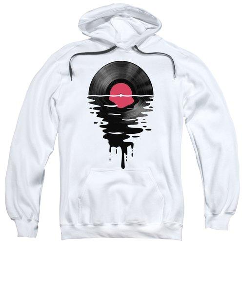 Vinyl Lp Record Sunset Sweatshirt
