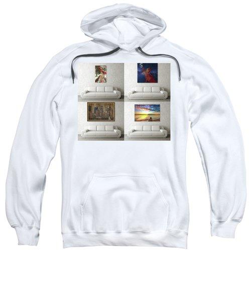 Wall Art Samples Sweatshirt