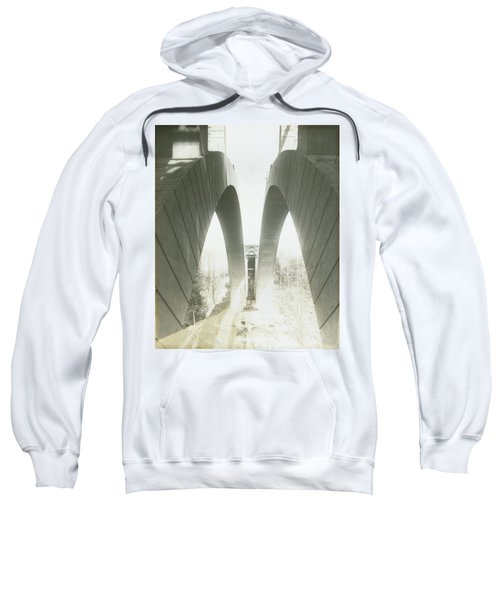 Walnut Lane Bridge Under Construction Sweatshirt