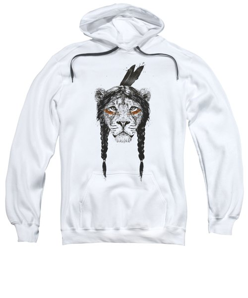 Warrior Lion Sweatshirt