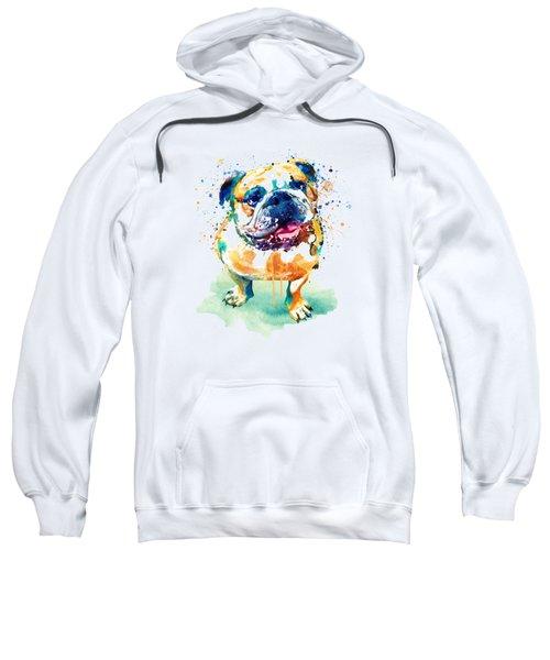 Watercolor Bulldog Sweatshirt