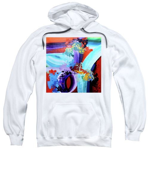 Watery Waves Sweatshirt