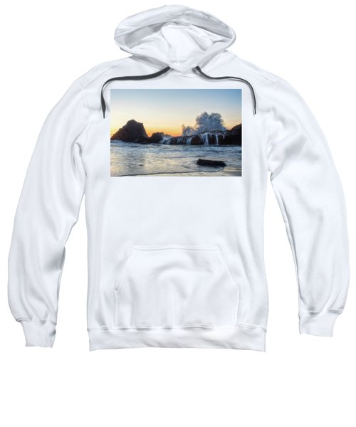 Wave Burst Sweatshirt