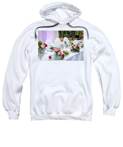 Wedding Table Sweatshirt