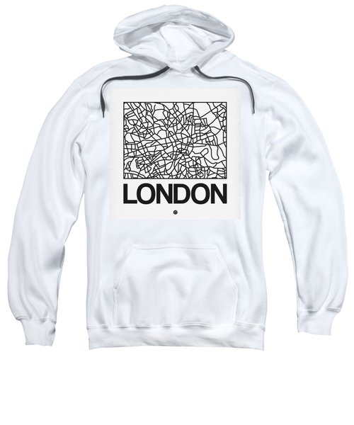 White Map Of London Sweatshirt