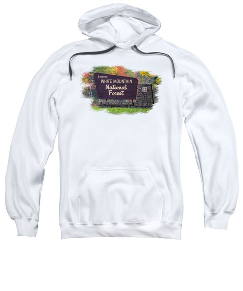 White Mountain National Forest Transparency Sweatshirt